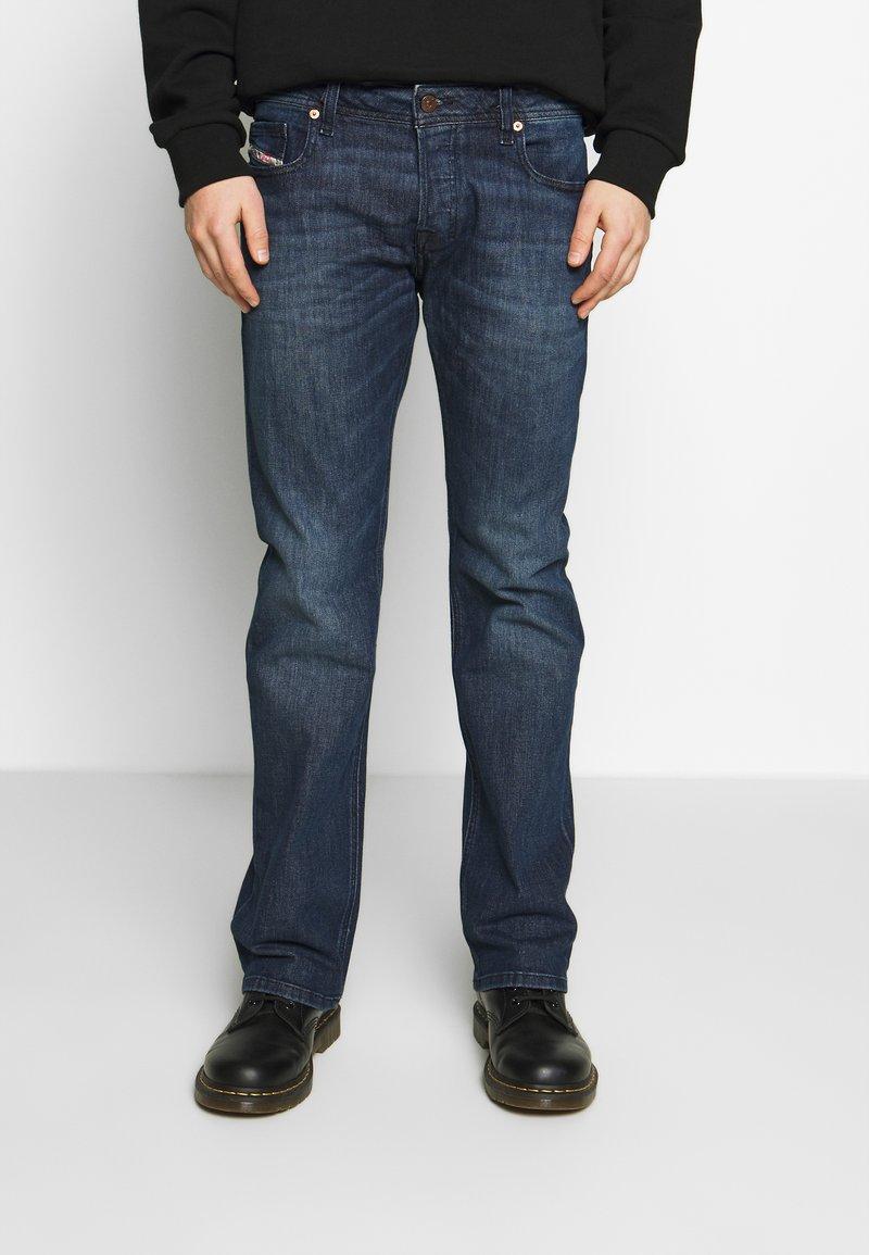 Diesel - ZATINY - Jeans Bootcut - dark blue denim