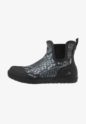 PRAISE SNAKE - Wellies - black/grey