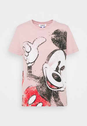 MICKEY - T-shirts med print - red