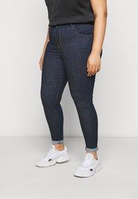Levi's® Plus - 720 HIRISE SUPER SKINNY - Jeans Skinny Fit - deep serenity - 0