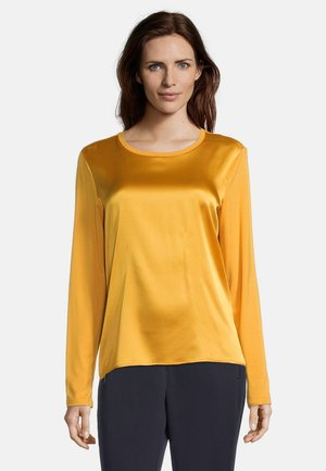 MIT GLANZEFFEKT - Blouse - golden glow