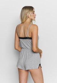 Pour Moi - SOFA LOVES SECRET SUPPORT PLAYSUIT - Pijama - grey marl - 2
