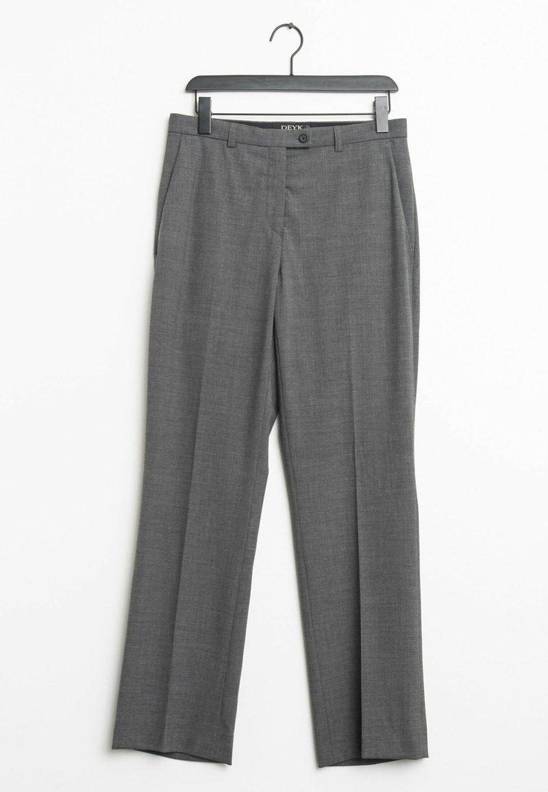 Deyk - Trousers - grey