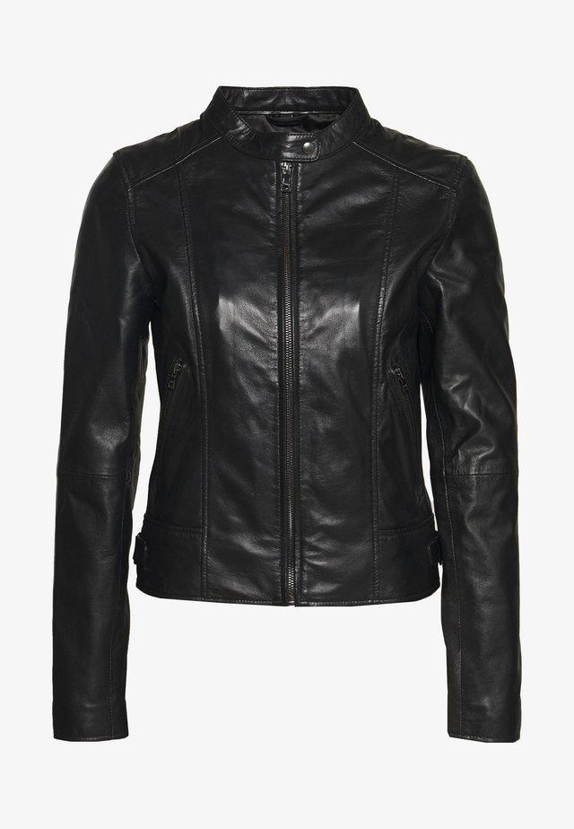 JUDITH - Leren jas - black