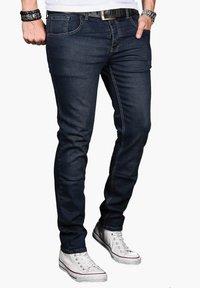 Alessandro Salvarini - Slim fit jeans - indigo - 2