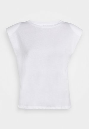 ONLPERNILLE SHOULDER  - T-shirt basic - white