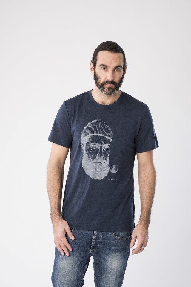 GRAPHIC - Print T-shirt - dark blue