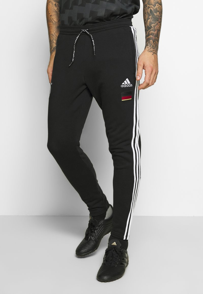 adidas Performance - DFB DEUTSCHLAND 3S PNT - National team wear - black
