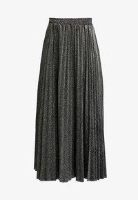 Guess - MARION SKIRT - Áčková sukně - black/silver - 3