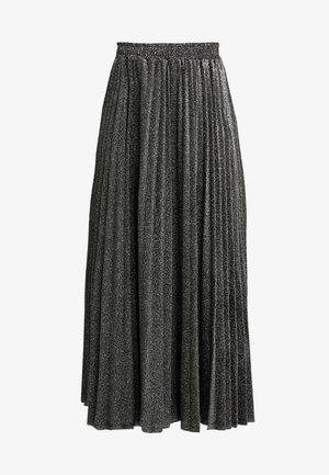 MARION SKIRT - Áčková sukně - black/silver
