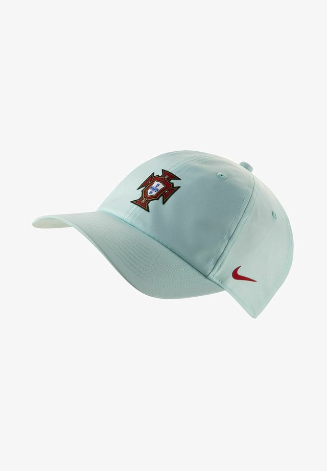 Casquette - teal tint/sport red