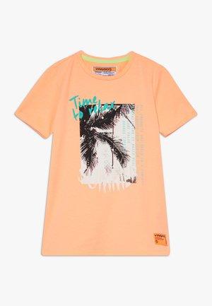 HAFSSA - T-shirt print - neon orange