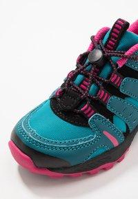 LICO - FREMONT - Sneakers laag - petrol/pink/schwarz - 2
