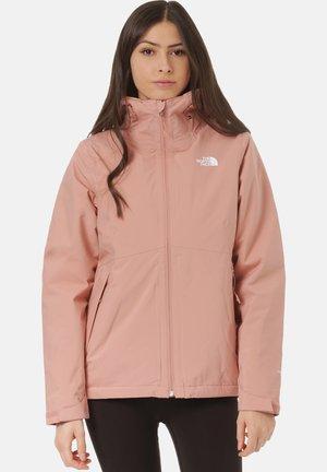 Winter jacket - pink clay