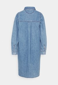 Monki - Denimové šaty - blue medium dusty - 7