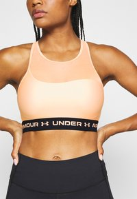 Under Armour - MID CROSSBACK BRA - Sports bra - desert rose - 2