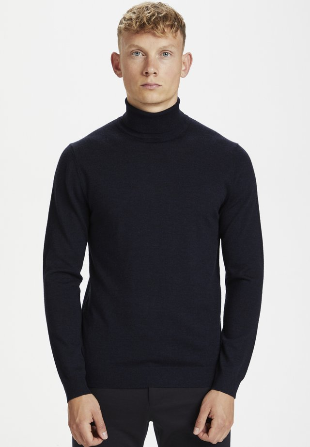 Jumper - dark navy melange