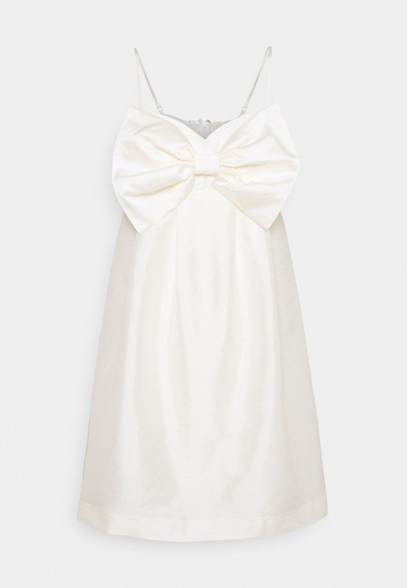 Forever New - MCKENNA STRAPPY MINI DRESS - Koktejlové šaty/ šaty na párty - ivory