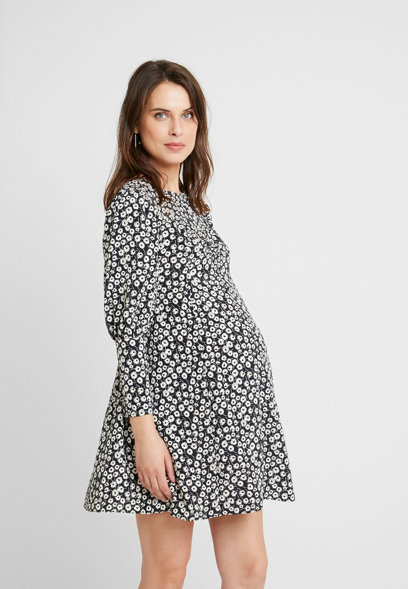 Topshop Maternity - GRUNGE TWIST - Korte jurk - mono