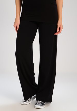 WIDE  - Tracksuit bottoms - black