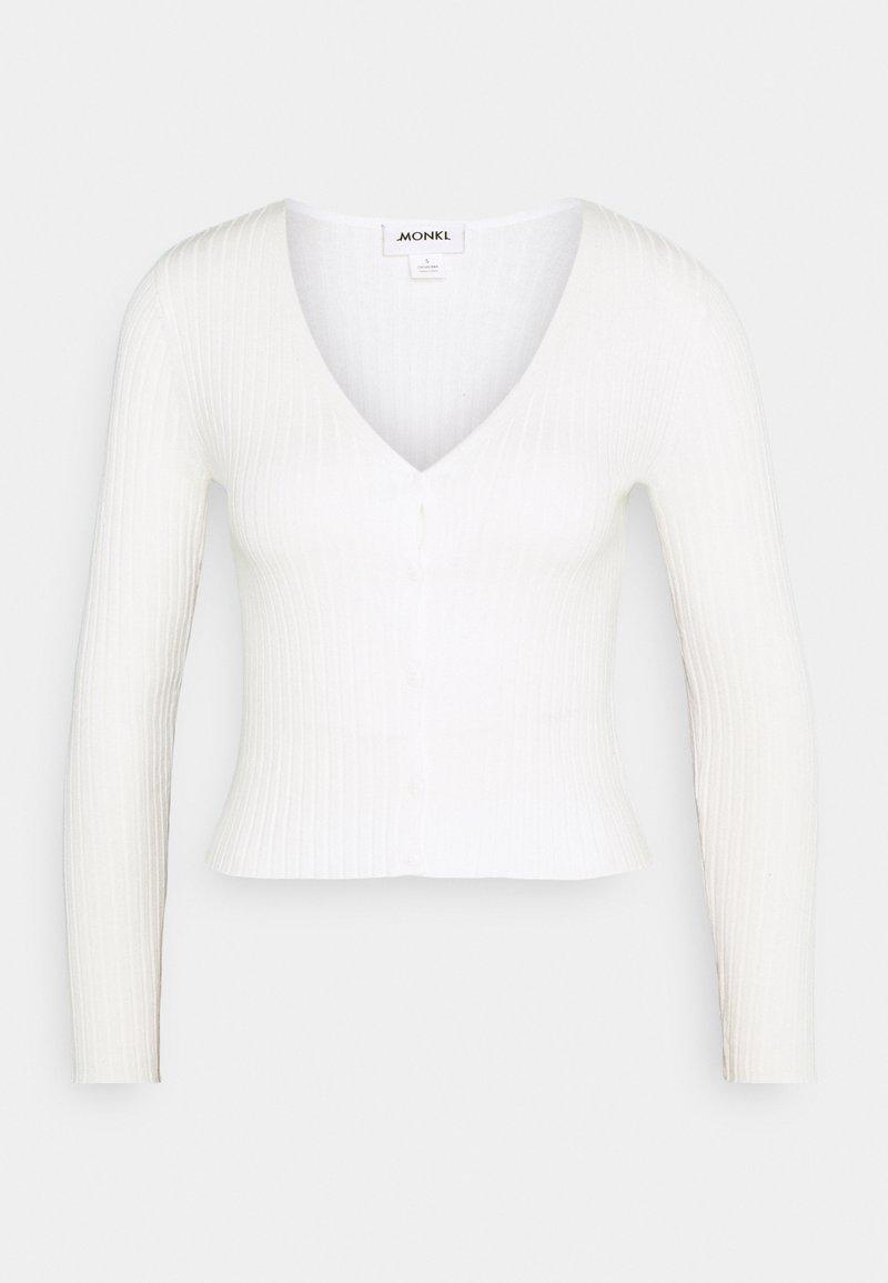 Monki - SILJA  - Cardigan - white light