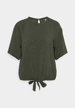 BLOUSES SHORT SLEEVE - Blouse - deep depth