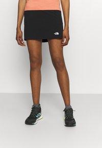 The North Face - SPEEDLIGHT SKORT - Sports skirt - black - 0