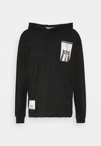 Calvin Klein Jeans - NYCK PHOTOPRINT HOODED - Hoodie - black - 4
