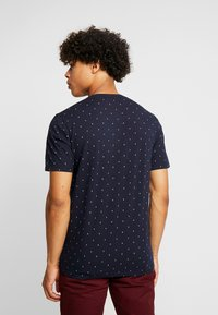 Scotch & Soda - CLASSIC CREWNECK TEE - Print T-shirt - dark blue - 2