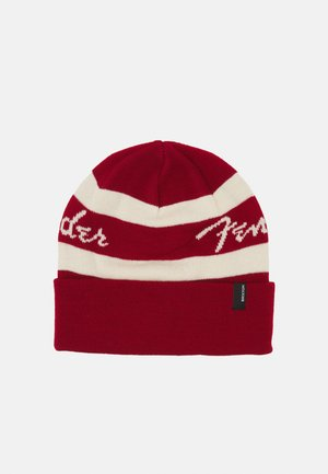 FENDER SONIC BEANIE UNISEX - Pipo - candy apple red