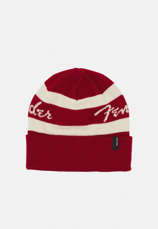 FENDER SONIC BEANIE UNISEX - Berretto - candy apple red