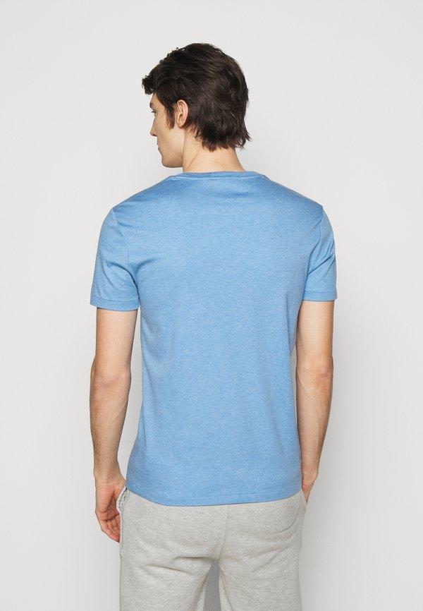 Polo Ralph Lauren PIMA - T-shirt basic - soft royal heather/jasnoniebieski Odzież Męska ICSN