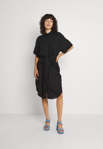 Vestido camisero - black