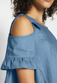 Molly Bracken - LADIES DRESS - Denní šaty - light denim - 5