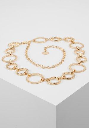 ASHMERE - Waist belt - gold-coloured