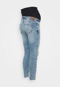 River Island Maternity - OVERBUMP AMELIE HAVANNAH - Jeans Skinny Fit - light auth - 1