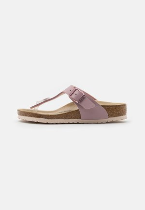 GIZEH KIDS - T-bar sandals - lavender blush
