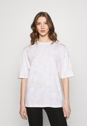 EVIDE TEE - T-shirt con stampa - white