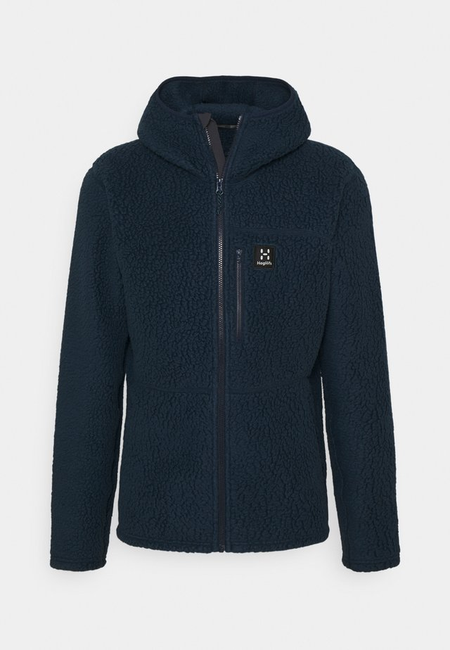 HOOD MEN - Forro polar - tarn blue