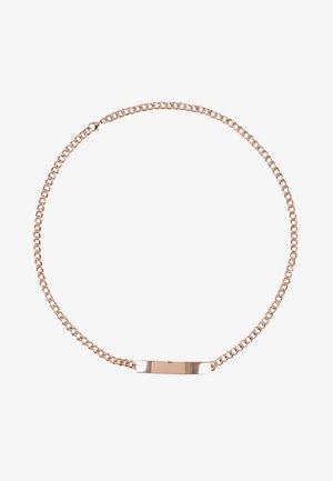 Waist belt - rosegold
