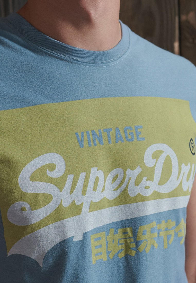 Men VINTAGE LOGO - Print T-shirt