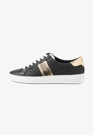 IRVING STRIPE LACE UP - Sneakersy niskie - black