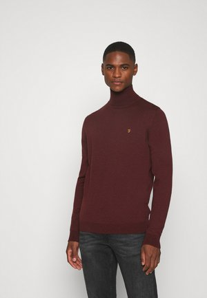 GOSFORTH ROLL NECK EXTRA  - Jumper - farah burgundy
