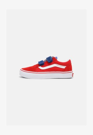 OLD SKOOL V UNISEX - Sneakers laag - high risk red/baja blue
