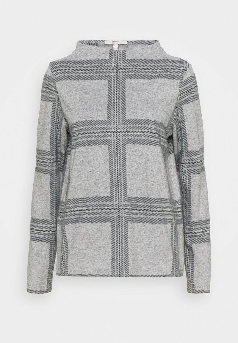 Esprit - H NECK  - Jumper - light grey