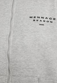 Mennace - SEASON ZIP THROUGH HOODIE - Zip-up hoodie - grey - 5