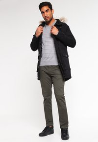 Pier One - Parka - black - 1