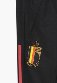 adidas Performance - BELGIUM RBFA TRAINING PANT - National team wear - black - 3