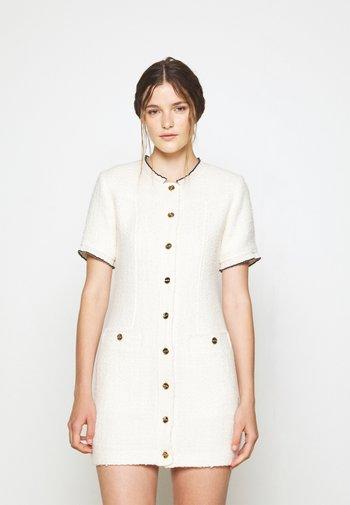 Shift dress - ecru