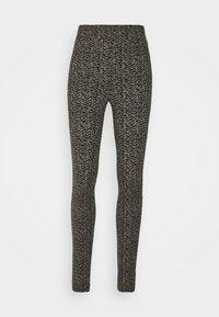 VMPETRINA  - Leggings - Trousers - black/erika